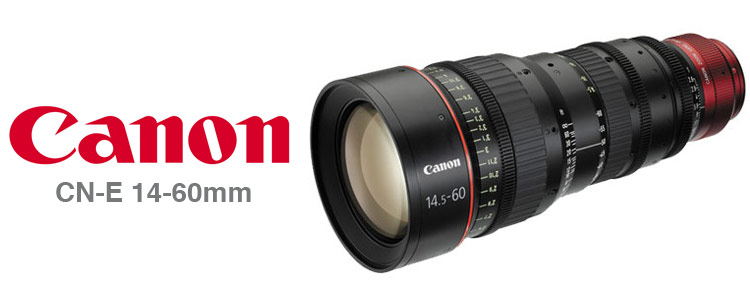 Canon CN-E14.5-60mm Cinema Lens Rentals