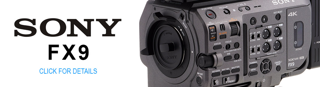 new sony fx9 camera available for rent