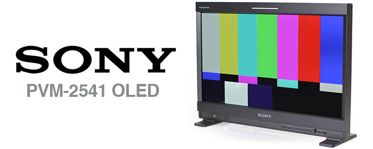 sony-pvm-2541-oled-monitor-rental