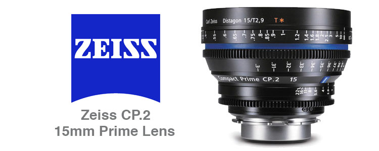 Wide Angle Zeiss CP.2 Prime Lens Rental 15mm