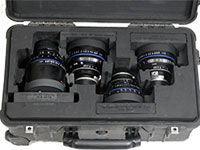 Zeiss CP2 Prime Lens Shipping Case Rentals